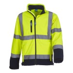 Hi Vis Softshell Jacket