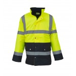 Hi-Vis Two Tone Motorway Jacket
